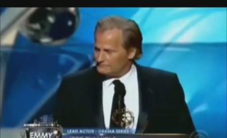Jeff Daniels Somehow Wins Emmy, Heisenberg Reacts in Maniacal Horror