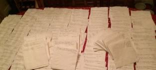 Napkin Notes Pile