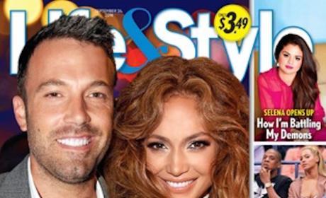 Ben Affleck, Jennifer Lopez Tabloid Cover