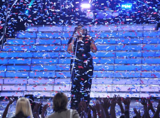 Candice Glover Celebrates