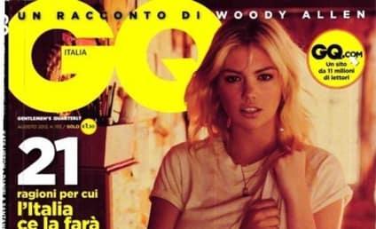 Kate Upton GQ Italia Cover: Molto Caldo Donna!