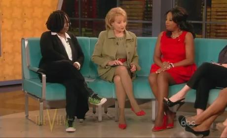 Star Jones on The View (2012)