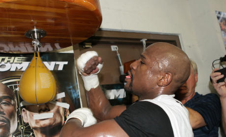 Floyd Mayweather at Work