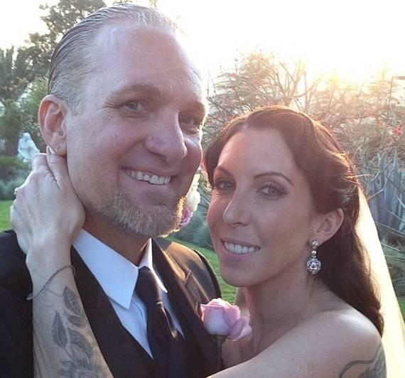 Jesse James and Alexis DeJoria