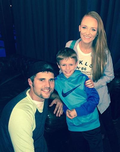 Ryan Edwards with Maci Bookout
