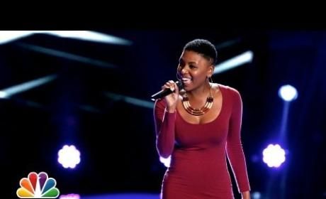 Tamara Chauniece - 1 + 1 (The Voice Blind Audition)