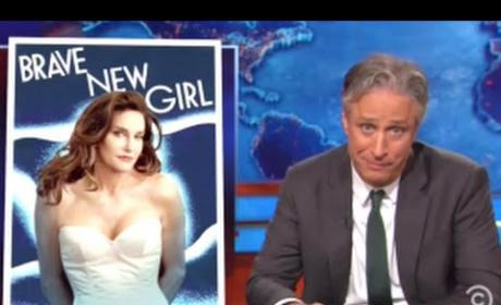 Jon Stewart Mocks Media for Caitlyn Jenner Coverage