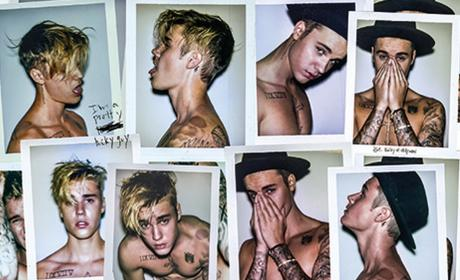 Justin Bieber Shirtless Montage