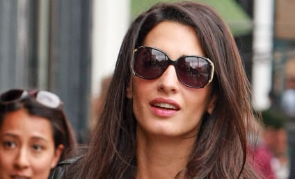 Amal Alamuddin Baby Bump: Totally Real, Claims Ridiculous Tabloid Story
