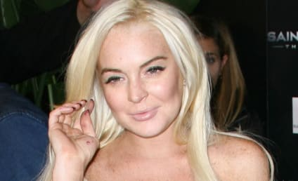 Did Lindsay Lohan Knock Some Dude Into the ER With Her Car?