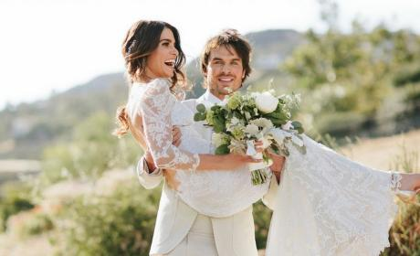 Ian Somerhalder and Nikki Reed Wedding Photo Will Make You Melt