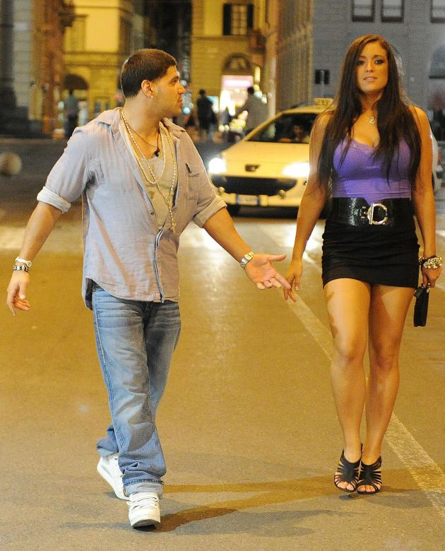 Ronnie Magro and Sammi Giancola