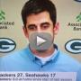 Aaron Rodgers Uses God to Troll Russell Wilson