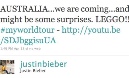Chris Brown to Join Justin Bieber on Stage in Australia?