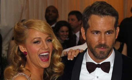 Blake Lively and Ryan Reynolds Photograph