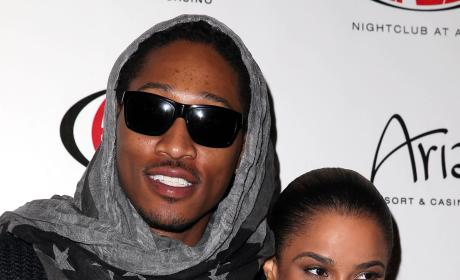 Ciara and Future at Haze Nightclub Las Vegas