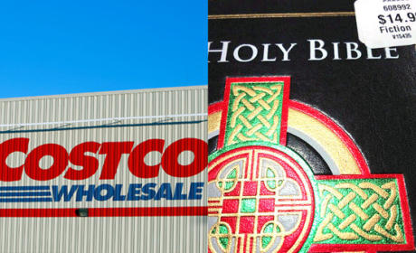 """CostCo Labels The Bible """"Fiction"""""""