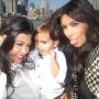 Aunt Kim Kardashian