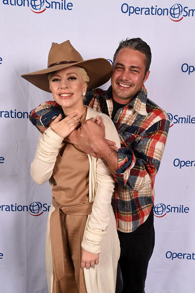Lady Gaga And Taylor Kinney Attend 'Celebrity Ski &amp Smile Challenge'