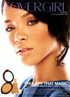 Rihanna Cover Girl Ad #2