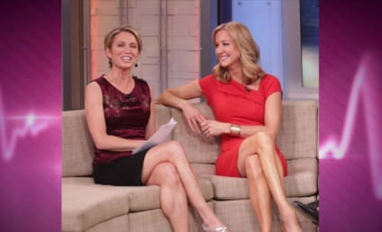 Amy Robach Slams Lara Spencer as Shameless Flirt, GMA Feud Intensifies