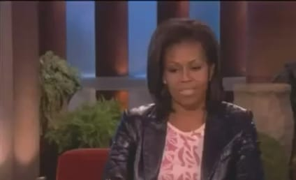 Michelle Obama Battles Ellen DeGeneres in Push-Up Contest