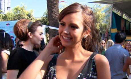 What do you think of Nina Dobrev's Teen Choice outfit?