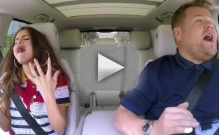 Selena Gomez Sings Carpool Karaoke!