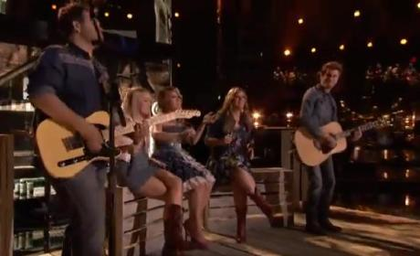 """Amber, Danielle, Holly and the Swon Brothers - """"Something More"""""""