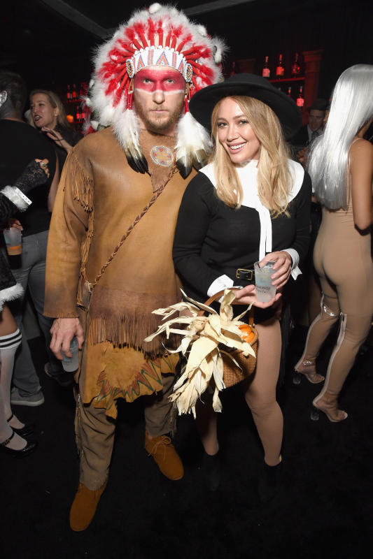 Hilary duff jason walsh halloween photo