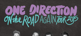One Direction Tour Poster