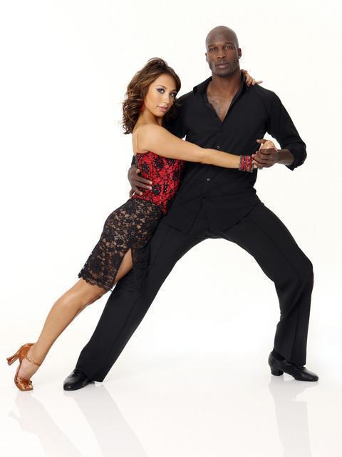 Chad Ochocinco and Cheryl Burke