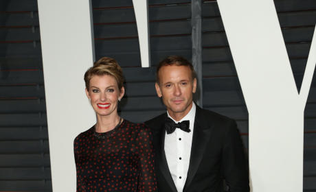 Faith Hill and Tim McGraw at Vanity Fair After Party - 87th Oscars