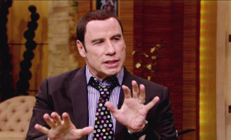 John Travolta Meeting Strange Men at the Gym: It Happens A Lot!