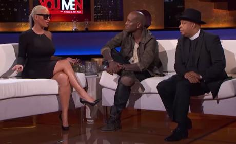 Amber Rose: SLAMS Tyrese, Rev Run for Slut-Shaming Comments