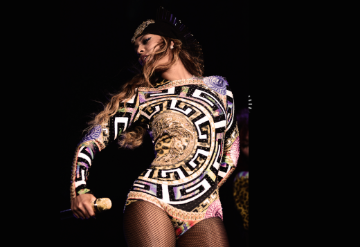 Beyonce in San Francisco