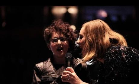 Adele Sings Duet with Autistic Fan Because She's Adele