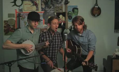 "The Gregory Brothers Cover ""Wrecking Ball,"" Keep Clothes On"