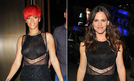 Fashion Face-Off: Rihanna vs. Jennifer Garner