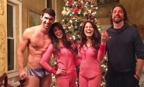 Nicole Johnson: Michael Phelps Speedo Photo