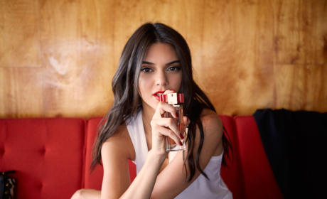 Kendall Jenner Models for Estee Lauder