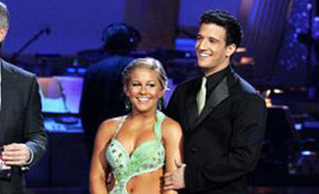 Shawn Johnson and Mark Ballas Image