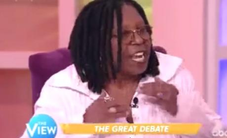 Whoopi Goldberg Compares Confederate Flag to Nazism