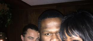 Leonardo DiCaprio Photobombs 50 Cent: Get Pic or Die Trying!