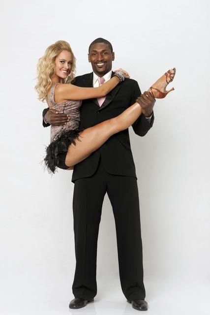 Ron Artest and Peta Murgatroyd