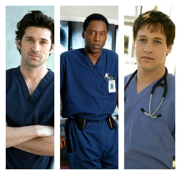 Patrick Dempsey and Isaiah Washington