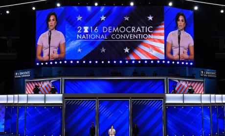Demi Lovato Talks Mental Illness at Democratic National Convention