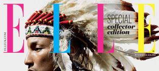 Pharrell Indian Headdress Cover