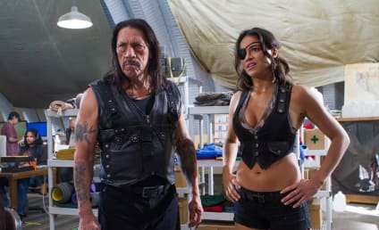 Machete Kills Pic: Michelle Rodriguez Rocking the Denim Vest