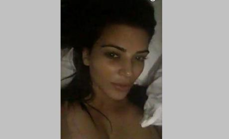 Kim Kardashian Defends Pregnancy Test Snapchat: What Do I Care?